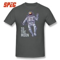 Bitcoin Astronaut to the Moon Cryptocurrency Short Sleeve
