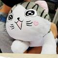 美麗大街【106080605】超可愛起司貓抱枕 毛絨玩偶