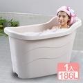 《真心良品》四季風呂省水泡澡桶186L