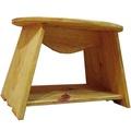 天然的◇檜木的木製圓桌(W48×H36cm) Angels Dust