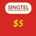 Singtel Prepaid eTop-Up $5