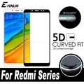 5D 3D Curved Edge Toughened Full Cover Tempered Glass For Xiaomi Redmi 5 Plus Note 5 Pro AI Screen P