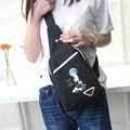 糖衣子輕鬆購【DZ0301】從零開始雷姆哈姆動漫周邊商品斜跨包運動小背包休閒包