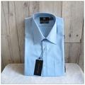 男生襯衫 MANHATTAN 美好挺 長袖 藍色 素面 領圍15.5吋 袖長86公分 經典版型 原價2680 [玩泥巴]