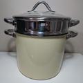二手SILIT  Silargan 希拉鋼義大利麵鍋深湯鍋麵條鍋直徑24CM 德國製陶瓷合金WMF