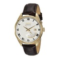 [Seiko] Seiko Kinetic SRN074 White Dial Brown Leather Band Men's Watch by Seiko Watches [From USA] - intl