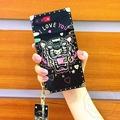 奢華潮牌KENZO虎頭矽膠個性蘋果X 手機殼iPhone 6防摔殼i8全包軟殼i7plus 手機殼 附吊牌+禮盒