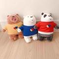 [現貨]熊熊遇見你 大大 阿極 胖達 webarebears 熊熊三兄弟 miniso 名創優品 娃娃玩偶公仔抱枕 禮物