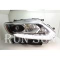 ●○RUN SUN 車燈,車材○● 全新 日產 X-TRAIL X TRAIL T32 低階改高階 LED黑框魚眼 大燈