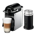 Nespresso Pixie Espresso Machine by DeLonghi with Aeroccino, Aluminum