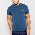 Polo Rlaph Lauren 經典刺繡小馬短袖素面T恤-皇家藍色