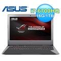 ASUS 華碩 G752VM-0021A 17.3吋 電競筆電