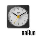 德國百靈 BRAUN 復刻嚴選簡約旅行鬧鐘 (BC02BW)-黑白雙色