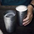 【Keith純鈦】 Ti9221雙層啤酒杯《泡泡生活》