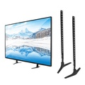 Universal TV Support Stand 32-55inch Base Plasma LCD Flat Screen Table Top Pedestal Mount