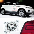 Banggood 3D Football Car Stickers Stereoscopic Simulated Adhesive Waterproof Decal 15X18CM