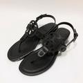 c1ae01af0  預購 Tory Burch Miller Sandals 皮革大釦木質低跟全真皮牛皮