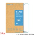 3PCS For Samsung Galaxy A8 Star Tempered glass Samsung A9 Star Glass For Galaxy A8 Star Screen Prote