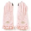 X射線【C778869】美樂蒂手套(粉),塑膠手套/耐油手套/禦寒/手套/PE手套/皮手套