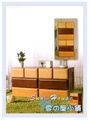 ╭☆雪之屋居家生活館☆╯AA566-01 麥田捕手四抽實木收納櫃(兩件式)/置物櫃/床頭櫃/電話櫃/電視櫃/展示櫃/斗櫃
