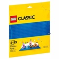 【LEGO 樂高】樂高 Classic 經典基本顆粒系列 - 藍色底板2入 10714(10714)
