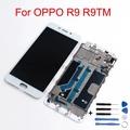 適用於oppo R9 液晶屏熒幕 總成 面板