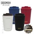 歲末感恩促銷↘仙德曼SADOMAIN 咖啡直飲內膽316不銹鋼保溫杯360ml/12oz-2入組(混色隨機出貨) (078169A-E-I-W-2)