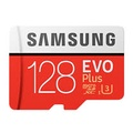 Samsung 三星 128GB 100MB/s 【EVO Plus】 microSDXC TF UHS-I U3 記憶卡