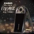 ➤單機【和信嘉】CASIO EX-TR80 自拍神器 (靜謐黑) 美肌相機 TR80 公司貨 原廠保固18個月