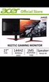 "🚚 Acer 27"" kg271c gaming monitor 144hz!"
