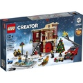 [大王機器人] 樂高 LEGO 10263 冬季消防局 Winter Village Fire Station