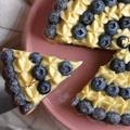 含運費 全新登場【食感旅程Palatability】轉圈圈藍莓塔  精選新鮮藍莓  自製香草卡士達