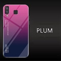 UPaitou Tempered Glass Case for Samsung Galaxy A8 Star Case TPU Bumper with Gradient Glass Back Phone Cover Case for Samsung A8 Star