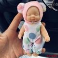 低價促銷√正品睡萌娃娃鑰匙扣睡眠娃娃睡夢ins網紅公仔毛絨玩具書包掛件