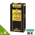 【岡本OK】002 Hydro水感勁薄保險套(6入X 4盒)-行動