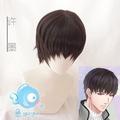 【物語系列∥預購】Cosplay 戀與製作人 許墨 cos 假髮 自然黑