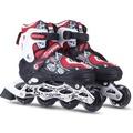直排輪單排成人溜冰鞋可調輪滑鞋男滑冰鞋女旱冰鞋閃光滑輪兒童 直排輪N4型男原創館