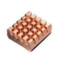 8pcs Memory Copper Heat Sink For DDR DDR2 DDR3 RAM 12x13x5mm