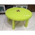 二手良品-IKEA 遊戲桌 兒童桌 圓桌【柚子甜甜的~】