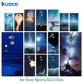 sony xperia xa2 ultra clear silicone cases night sky pattern 6 sony xa2 ultra tpu sony xperia xa2