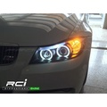 SONAR BMW E90 燻黑 晶鑽 CCFL光圈 雙光 遠近魚眼大燈組 335 320