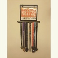 馬拉松獎牌與號碼布展示架