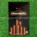 GarudaFood chocolatos 黑雪茄巧克力威化捲 爆漿脆笛蘇 捲心蘇 食品 印尼製造進口 JustGirl