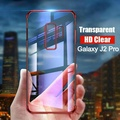 For Galaxy J2 Pro 2018 Soft Case Transparent Plating Shining Cover for Samsung Galaxy J2 Pro Casing Clear Antioxidant Housing