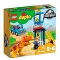 玩具e哥 樂高LEGO 侏羅紀 DUPLO-暴龍塔 10880
