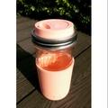 (fortissimo) 美國進口24oz ball直立式梅森瓶+無毒矽膠直飲杯蓋+矽膠防滑隔熱冷杯套