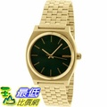 [105美國直購] Nixon Men's 男士手錶  Time Teller A0451919 Gold Stainless-Steel Quartz Watch