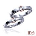 IDes design 永恆之戀系列鑽石對戒-預購