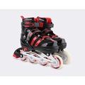 溜冰鞋成人直排輪兒童可調前輪閃光溜冰鞋旱冰鞋輪滑鞋N17 酷咖精品旗艦店