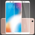 For VIVO Y71 Tempered Glass full Screen Protector film for VIVO Y71 screen cover Glass (white)(2 Pieces)